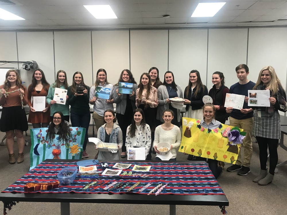 Spanish Honor Society Induction