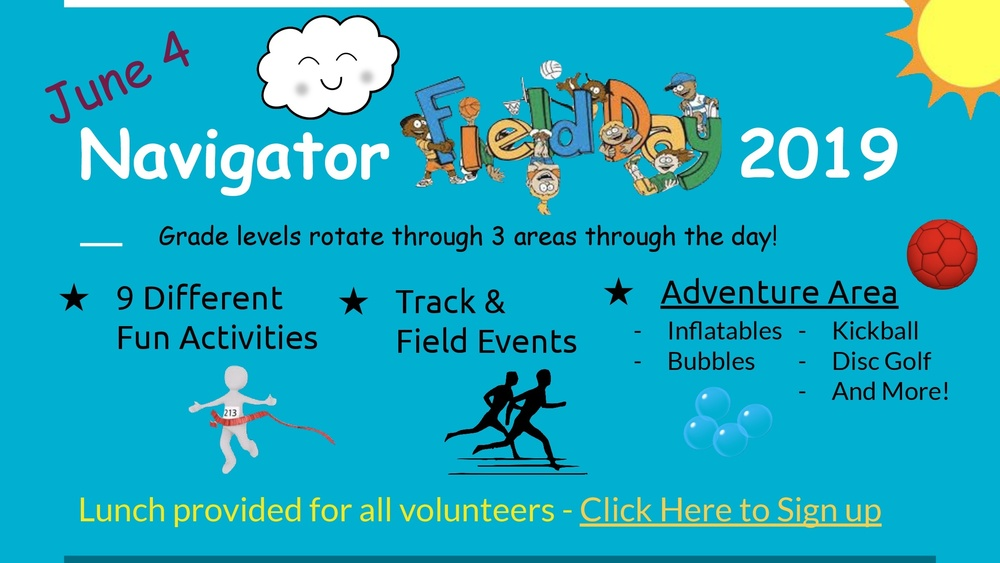 Navigator Field Day - June 4