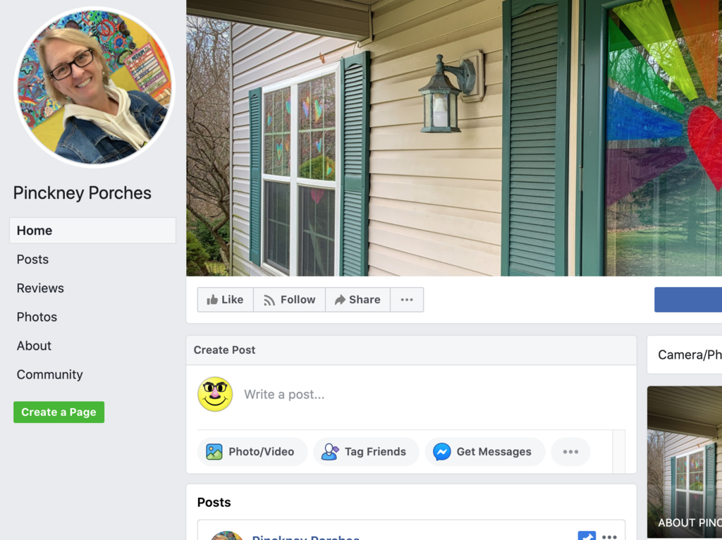 Pinckney Porches on Facebook